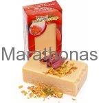 Βιολογικό σαπούνι τριαντάφυλλο με ροδοπέταλα 135 gr