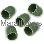 Καπελάκι στρογγυλό 16 χιλ. πράσινο (15 τεμ.)