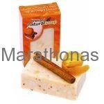 Βιολογικό σαπούνι με πορτοκάλι και κανέλα 135 gr